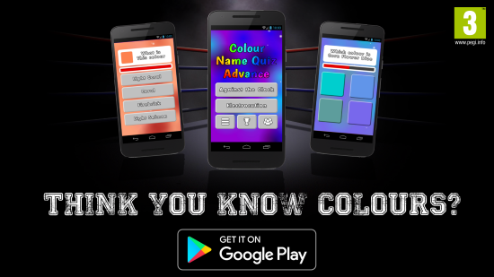 So you think you know colours? CNQA Banner